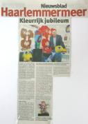 Kleurrijk Jubileum 25 Jaar Kunstenaar 2014