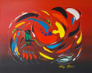 Moments Are Passing By Acryl Op Linnen 80 X 100 Cm12