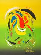 Summer Dream Acryl Op Linnen 60 X 80 Cm2